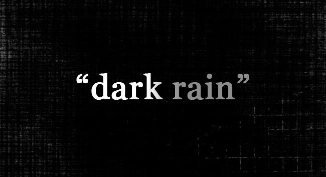 """""""Dark Rain"""" Interactive Music Video"""